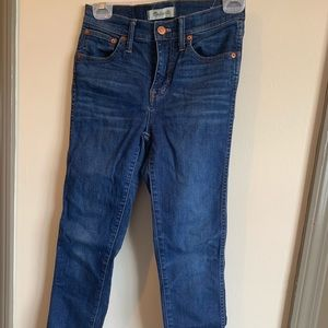 """Madewell 9"""" jeans"""